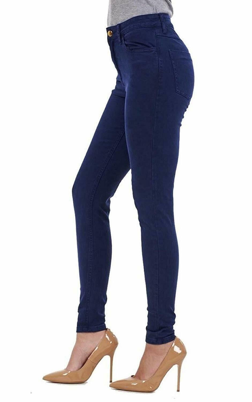 Ex-ZARA-femmes-womans-Jeans-Denim-Stretch-Pantalon-Pantalon-Taille-Tailles-UK-8-18 miniature 11