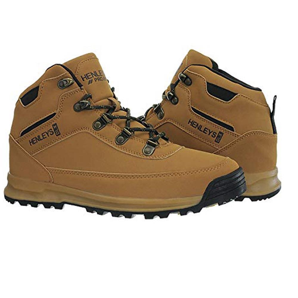 Henleys-unsunghero-Para-hombre-Botas-para-Caminar-Con-Cordones-Zapatos-De-Invierno-Al-Aire-Libre-7 miniatura 5