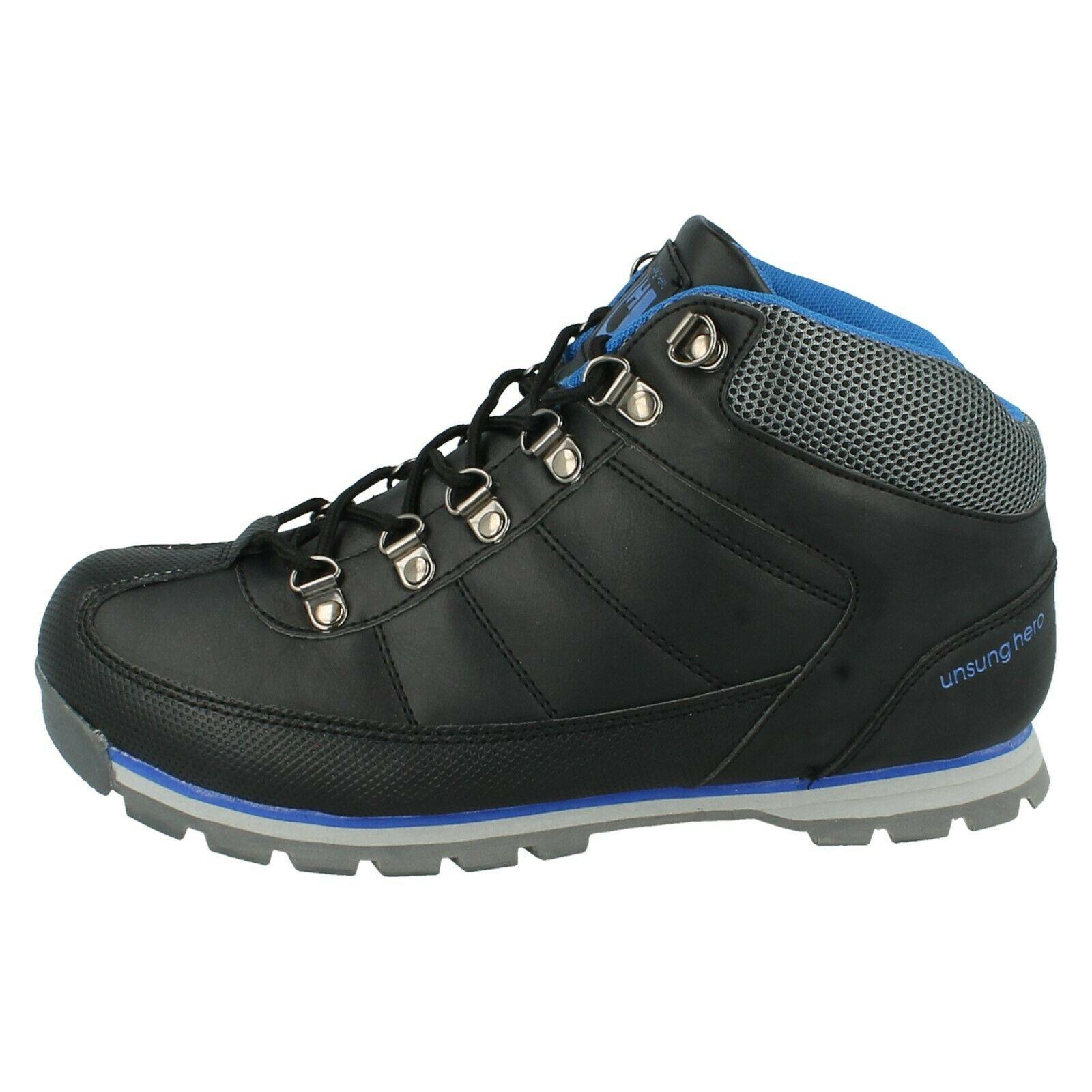 Henleys-unsunghero-Para-hombre-Botas-para-Caminar-Con-Cordones-Zapatos-De-Invierno-Al-Aire-Libre-7 miniatura 17