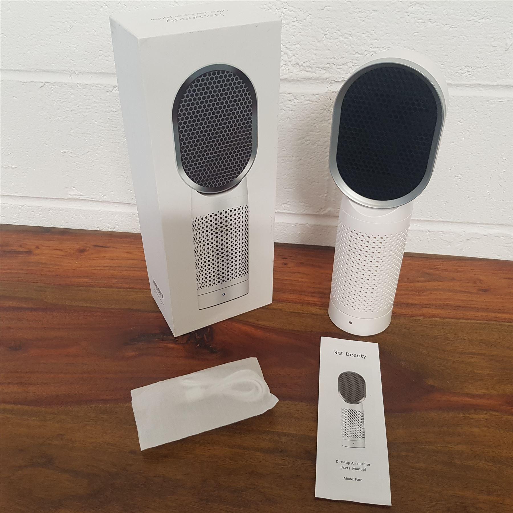 Net beauty office desktop air purifier cleaner f001 for Office air purifier amazon