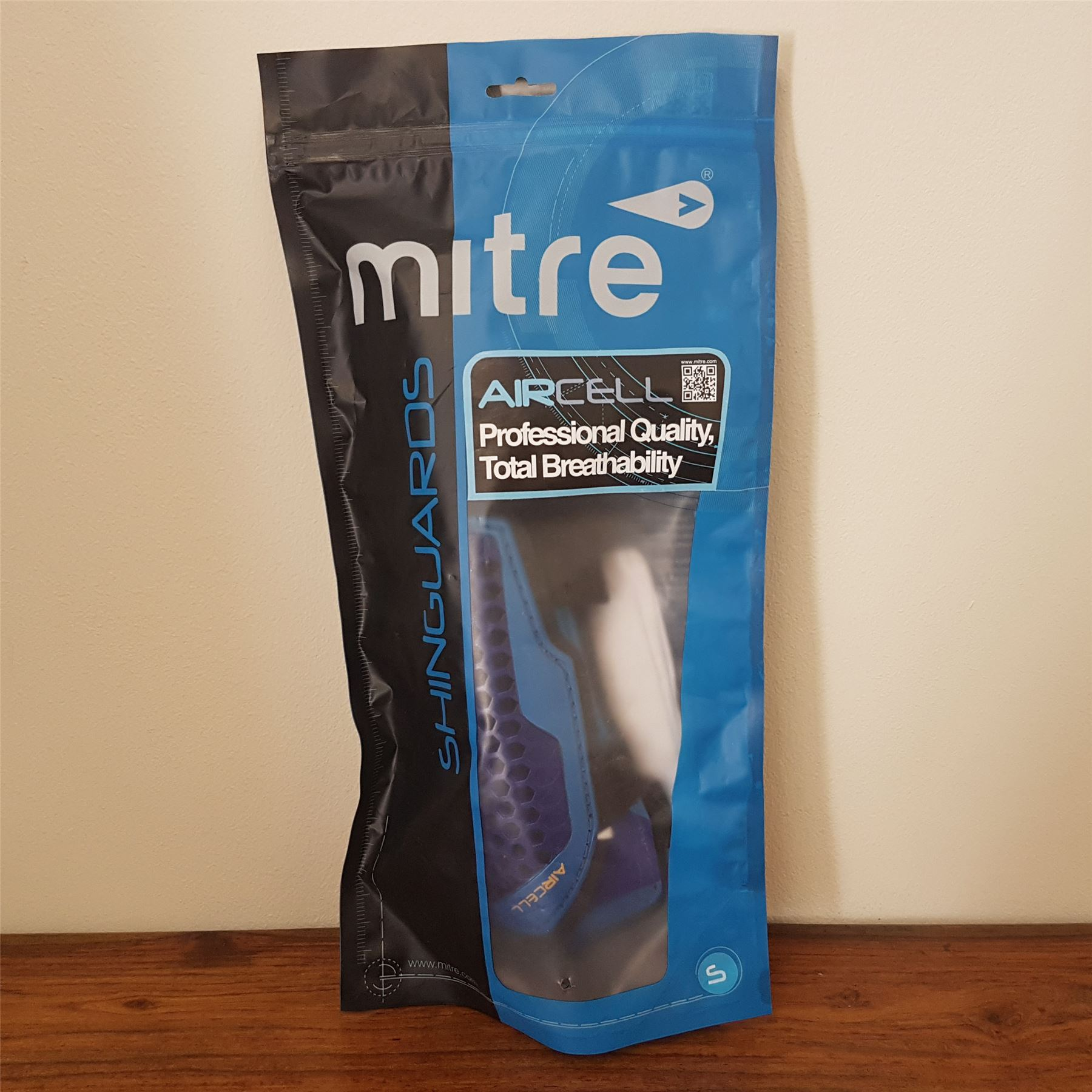 mitre aircell carbon shin guards size guide