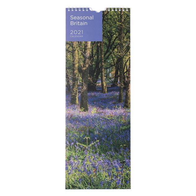 WHSmith 2021 3 Month To View Commercial Wall Calendar With Blank Area Notes