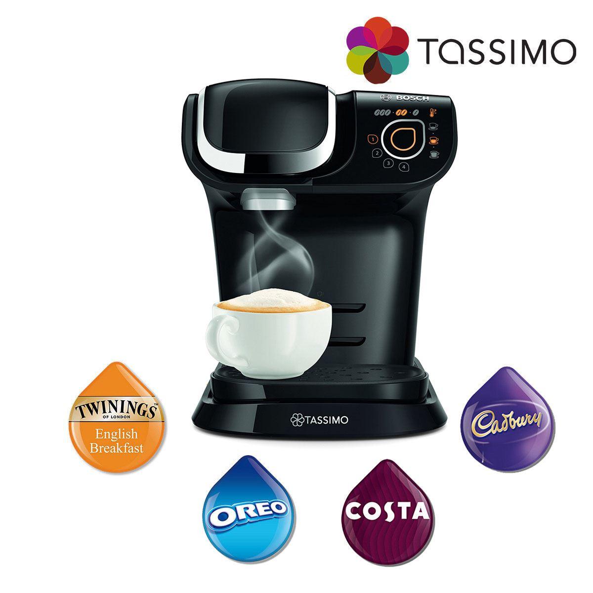 tassimo my way tas6002gb costa coffee hot drinks coffee. Black Bedroom Furniture Sets. Home Design Ideas