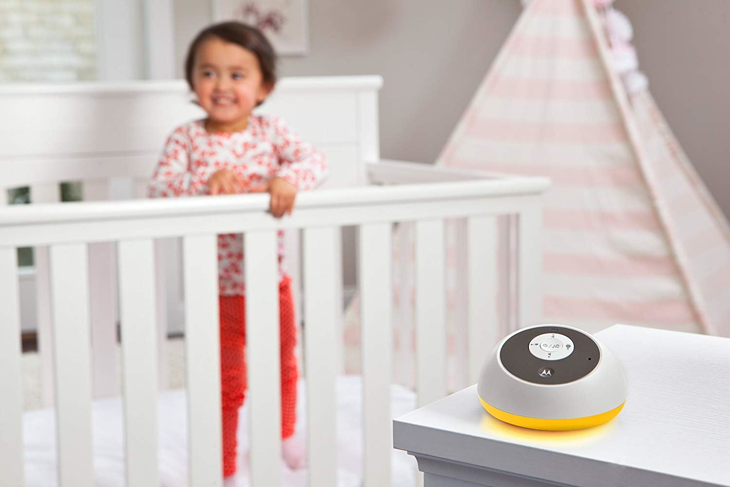 Motorola MBP161 Timer Audio Baby Monitor With Room Temperature Monitoring NEW