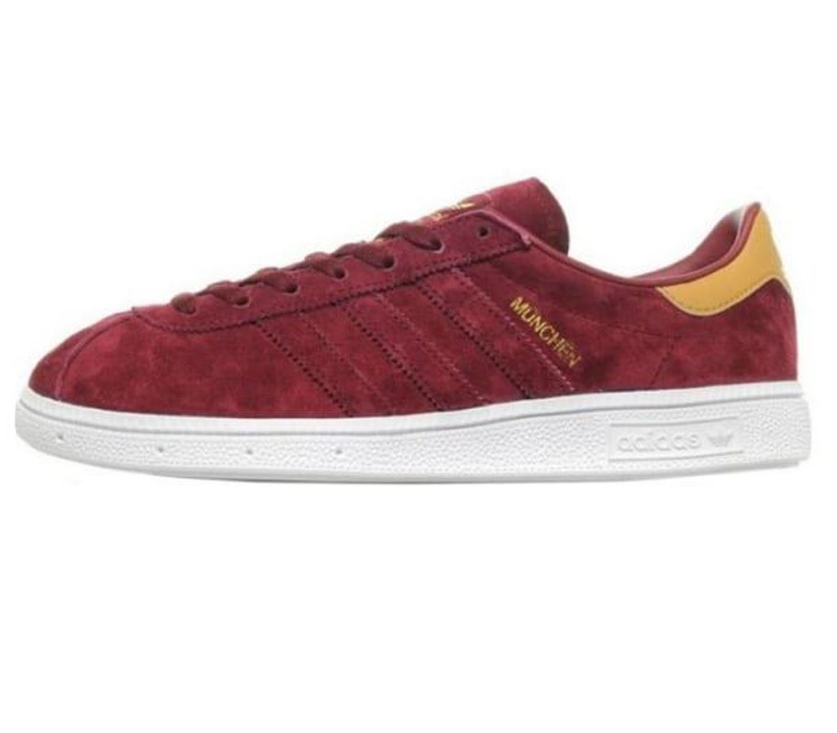 5386413c8e3f Details about adidas Originals Munchen Mens Trainers Multisport Outdoor  Shoes CQ1788 Burgundy