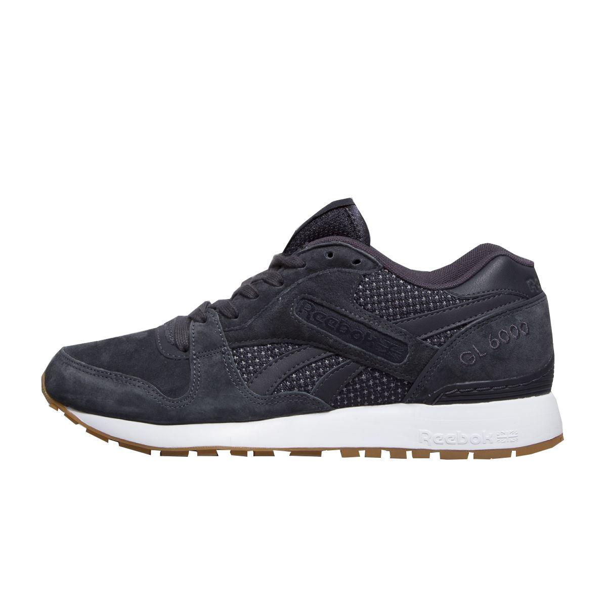 09d873fe59e1 Details about Reebok Classic GL 6000 Premium Tech Leather   Suede Mens  Trainers Shoes BD2679