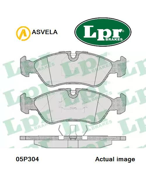 details about brake pad set,disc brake for opel,daewoo,vauxhall,holden lpr  05p304