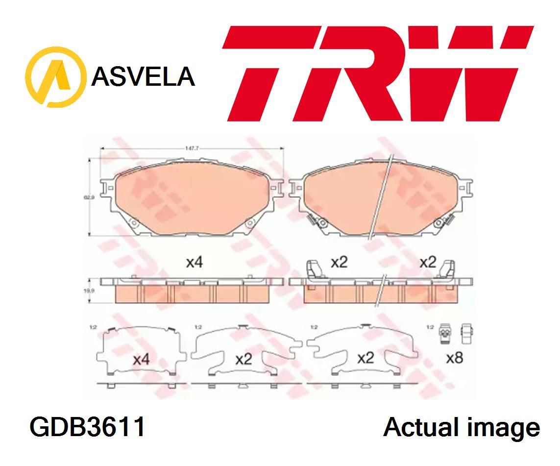 Details about Brake Pad Set,disc brake for MITSUBISHI Canter,FE5,FE6  6 Generation,4D34-2AT4