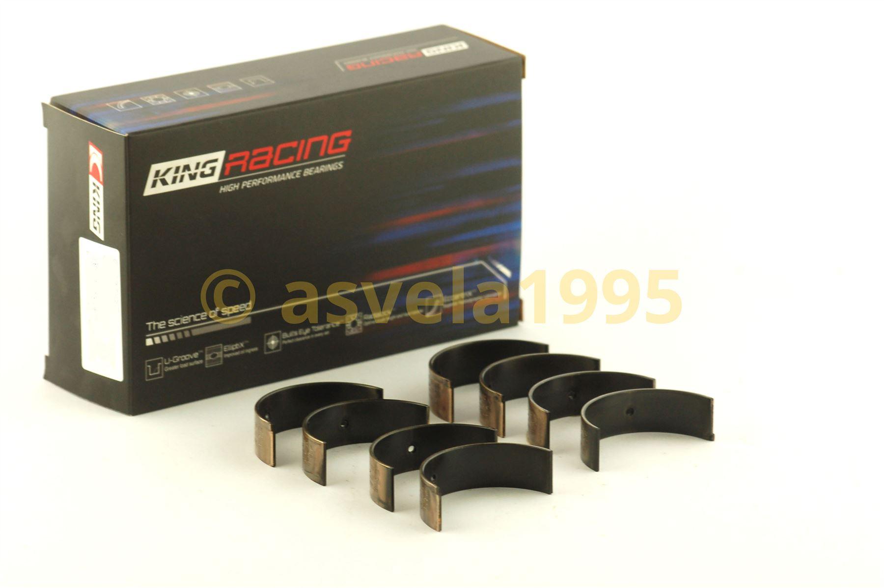 King Bearings CR4065XP0.25 Nissan KA-24DE Performance Rod Bearing Set Size 0.25 Oversized