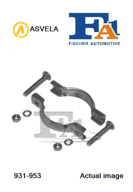 Clamp Set,exhaust system for CITROEN GS,G12//612,G12//611 FA1 931-953