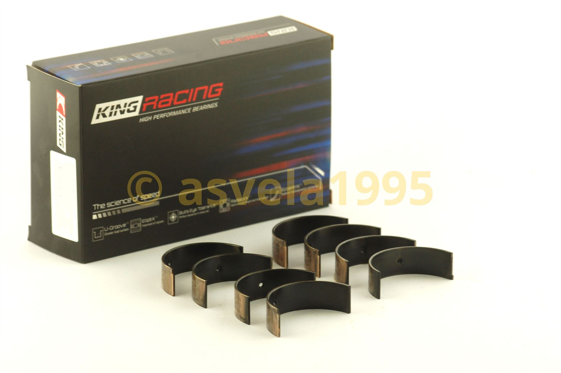 Size STD King Bearings CR6888XP Ford 4 Cyl 2.0//2.3 EcoBoost Performance Rod Bearing Set