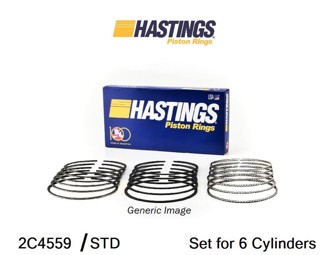 Hastings 2M4265S Single Cylinder Piston Ring Set