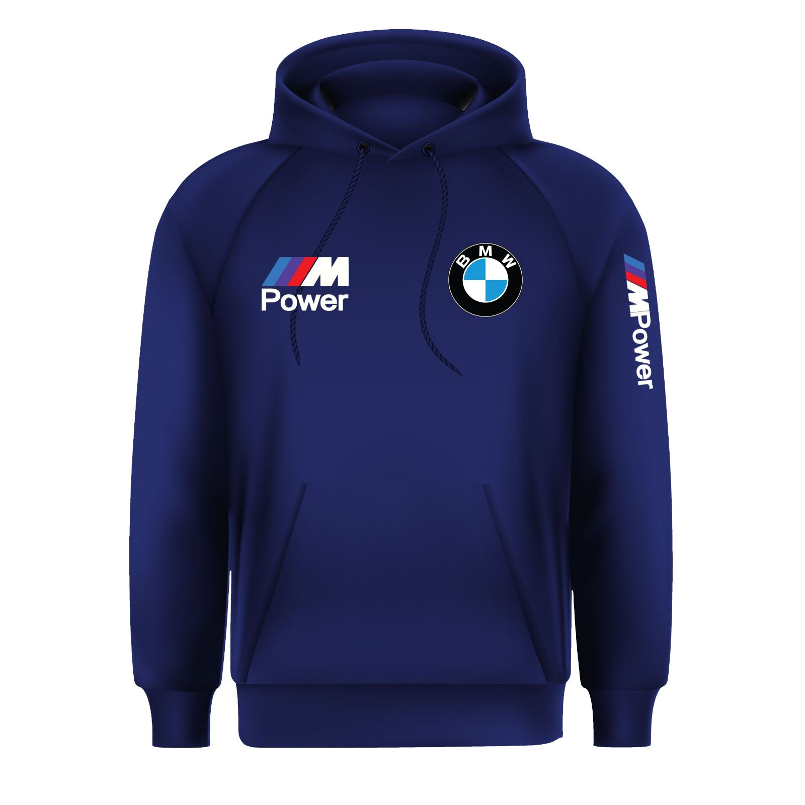 New-Mens-BMW-M-Power-Beamer-Motorsport-M-Sport-Pullover-Hoodie-Jumper-Top