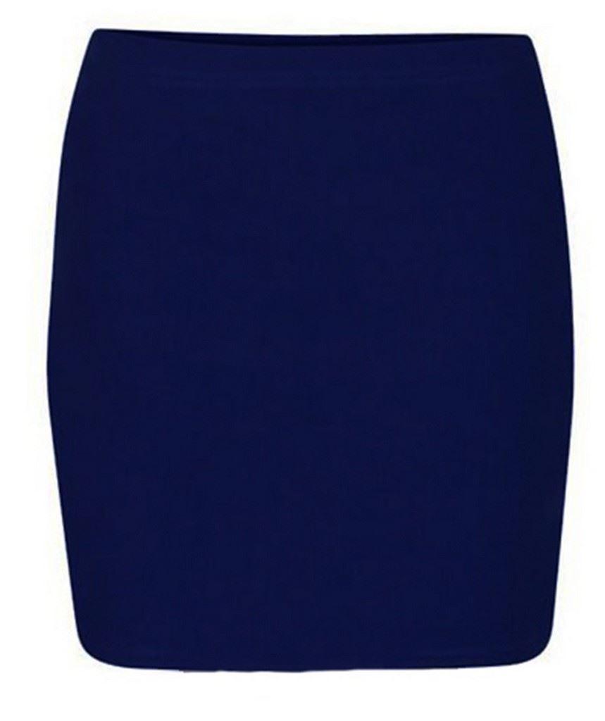 Navy short blue pencil skirt photos
