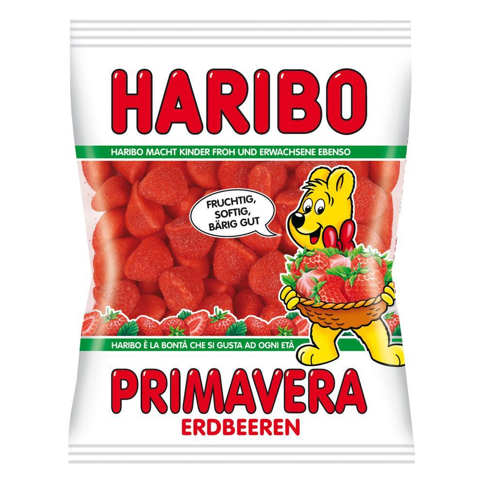 Details about Haribo Primavera-Strawberries Gummi Candy 200g (Germany  Import)