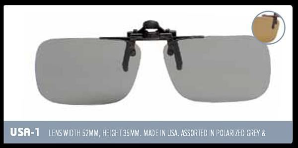 Indexbild 2 - EyeLevel Polarized Overglasses / Clip-on Glasses / Fishing