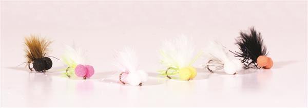 Trout Fishing Flies BLACK F//BACKS X 6 Trout Flies By Arc Fishing Flies UK