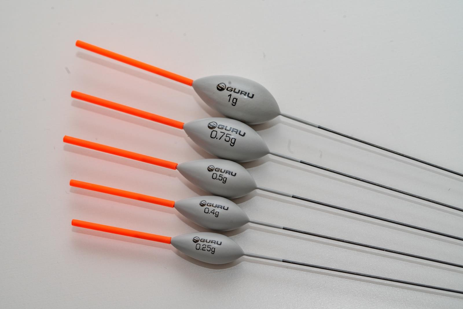 Indexbild 9 - Guru Pole Fishing Floats by Mick Wilkinson, Diamond, Pinger Wire or Carbon Stem