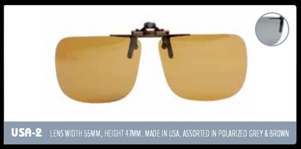 Indexbild 3 - EyeLevel Polarized Overglasses / Clip-on Glasses / Fishing