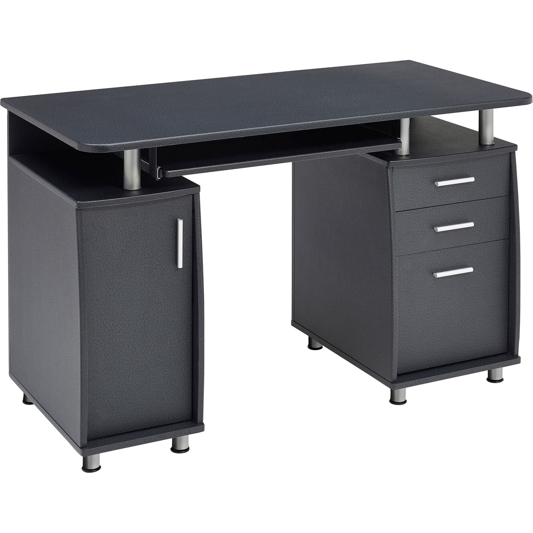 Computer Desk With Storage & A4 Filing Drawer Home