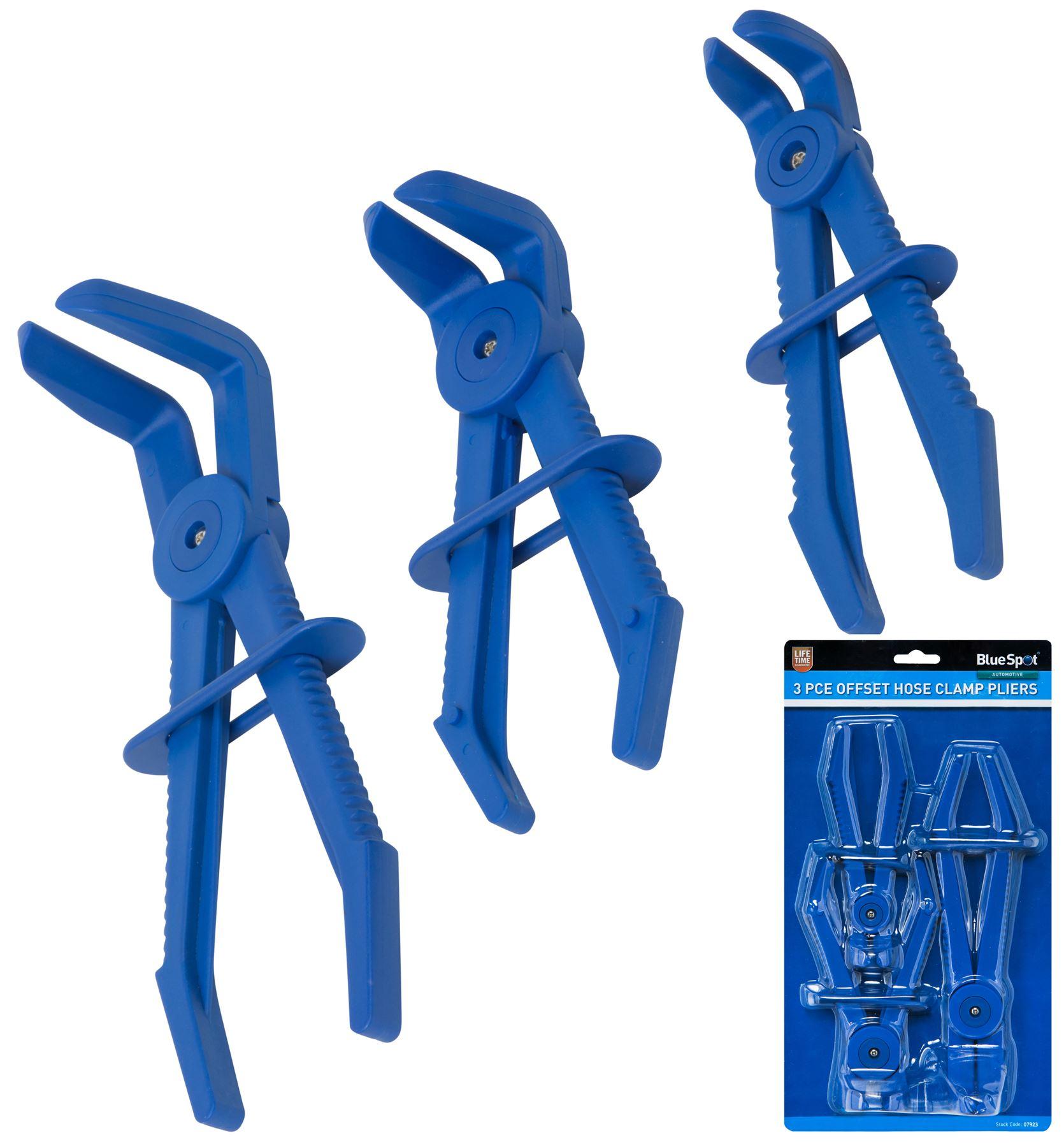 Line Clamp Set Metal 3pc