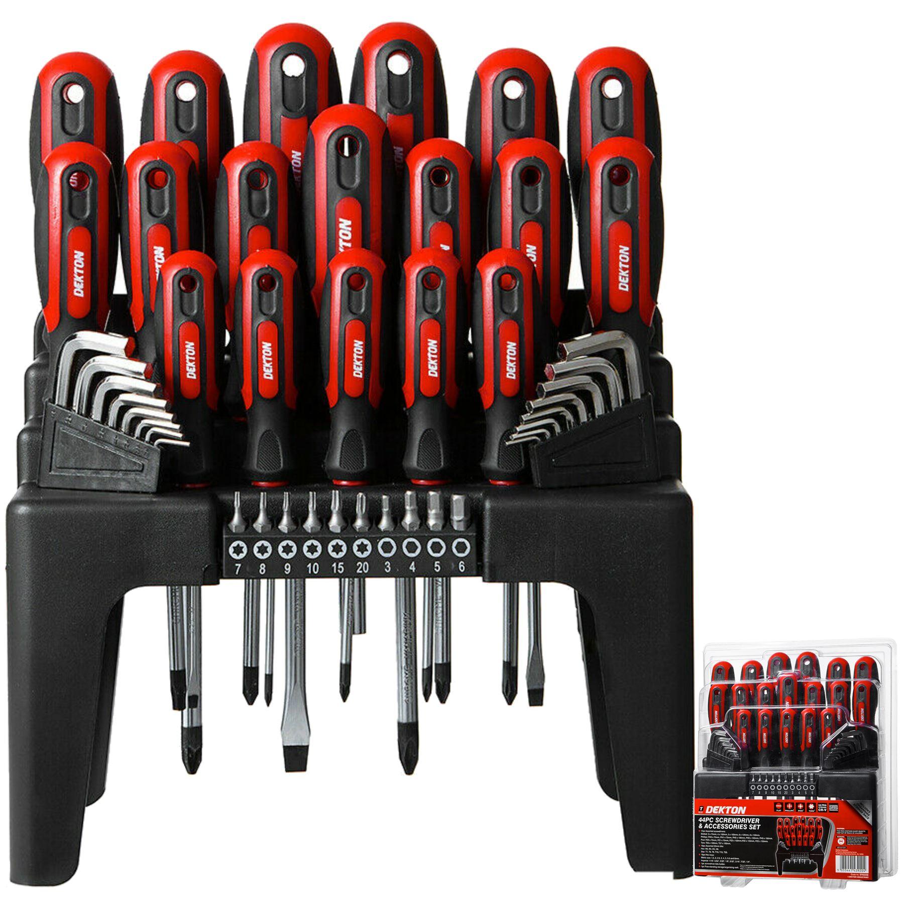 Hex Key Set 7 Pcs Dekton Black Allen Keys Set