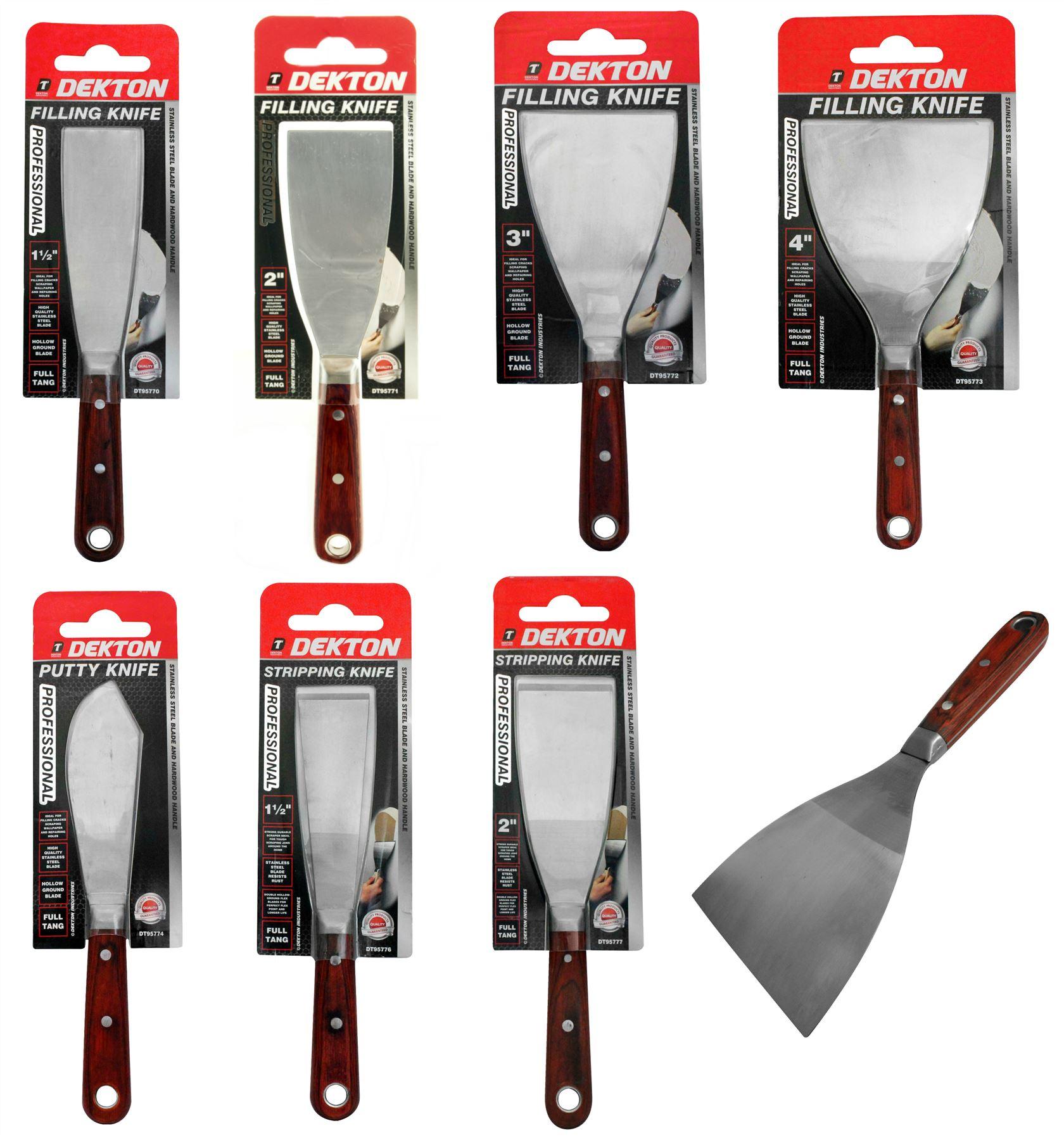 Dekton Papier Peint Inox Peinture Décapant de remplissage mastic couteau Tang Grattoir