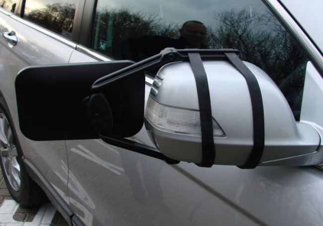 Mercedes B-Class Caravan Trailer Robust Extension Towing Wing Mirror Glass Pair