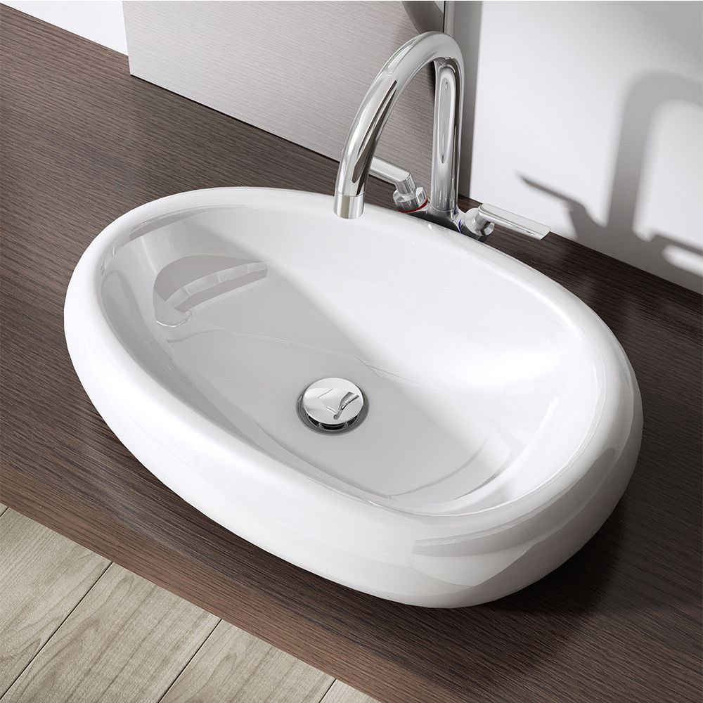 bathroom sinks top mount durovin bathroom white basin sink range wall mounted 16646