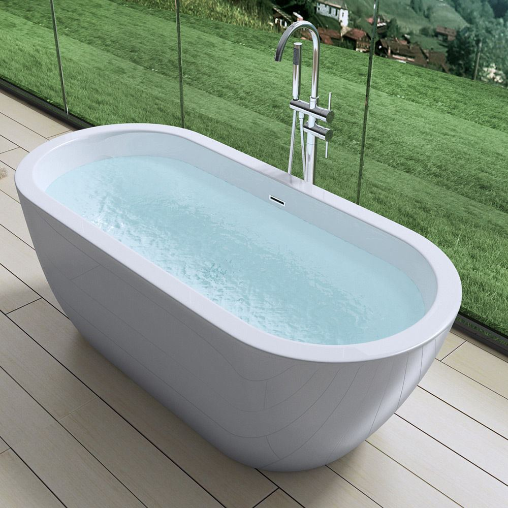 Freestanding Bath Tub Range Slipper Double Ended Various Sizes And ...