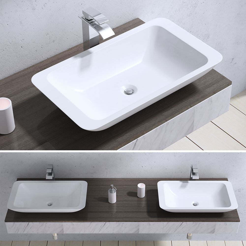 bathroom sink with shelf durovin bathroom basin sink wash bowl range counter 16624
