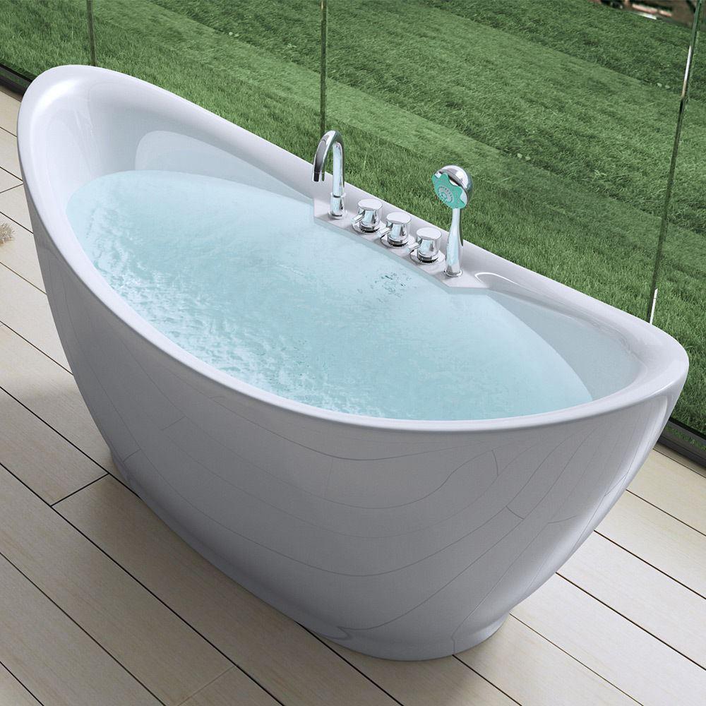 Freestanding Bath Tub Range Slipper Double Ended Various Sizes And ...
