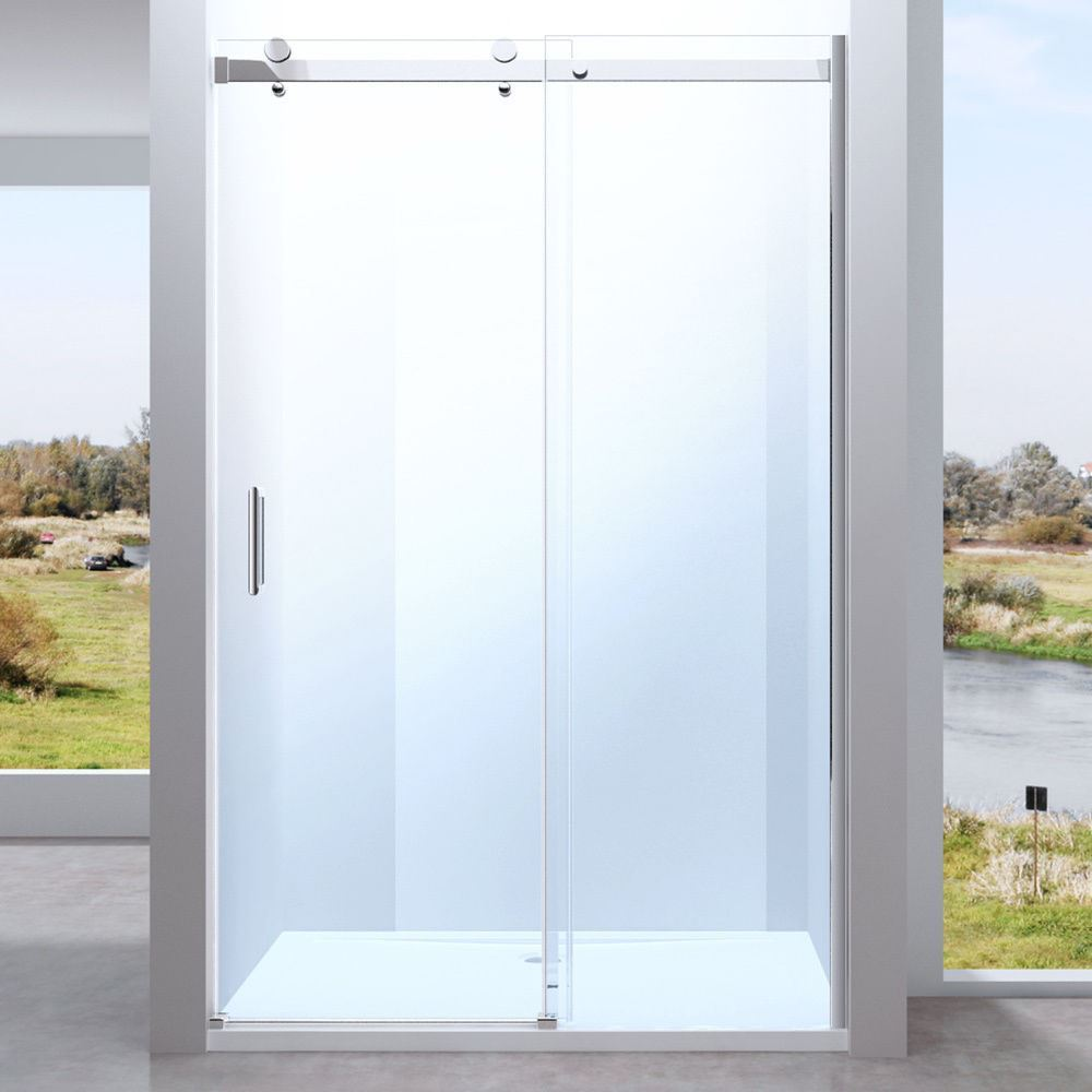 1250mm Sliding Door Panel Frameless Quality Shower Enclosure 8mm ...