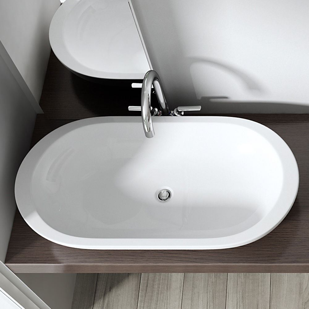 Durovin Bathroom Basin Sink Wash Bowl Range Stone