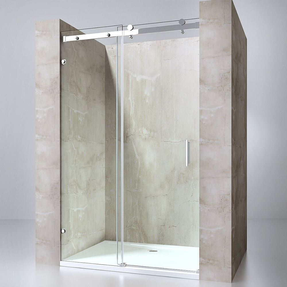 1150mm Door Only Sliding Shower Enclosure With 8mm Thickness Nano