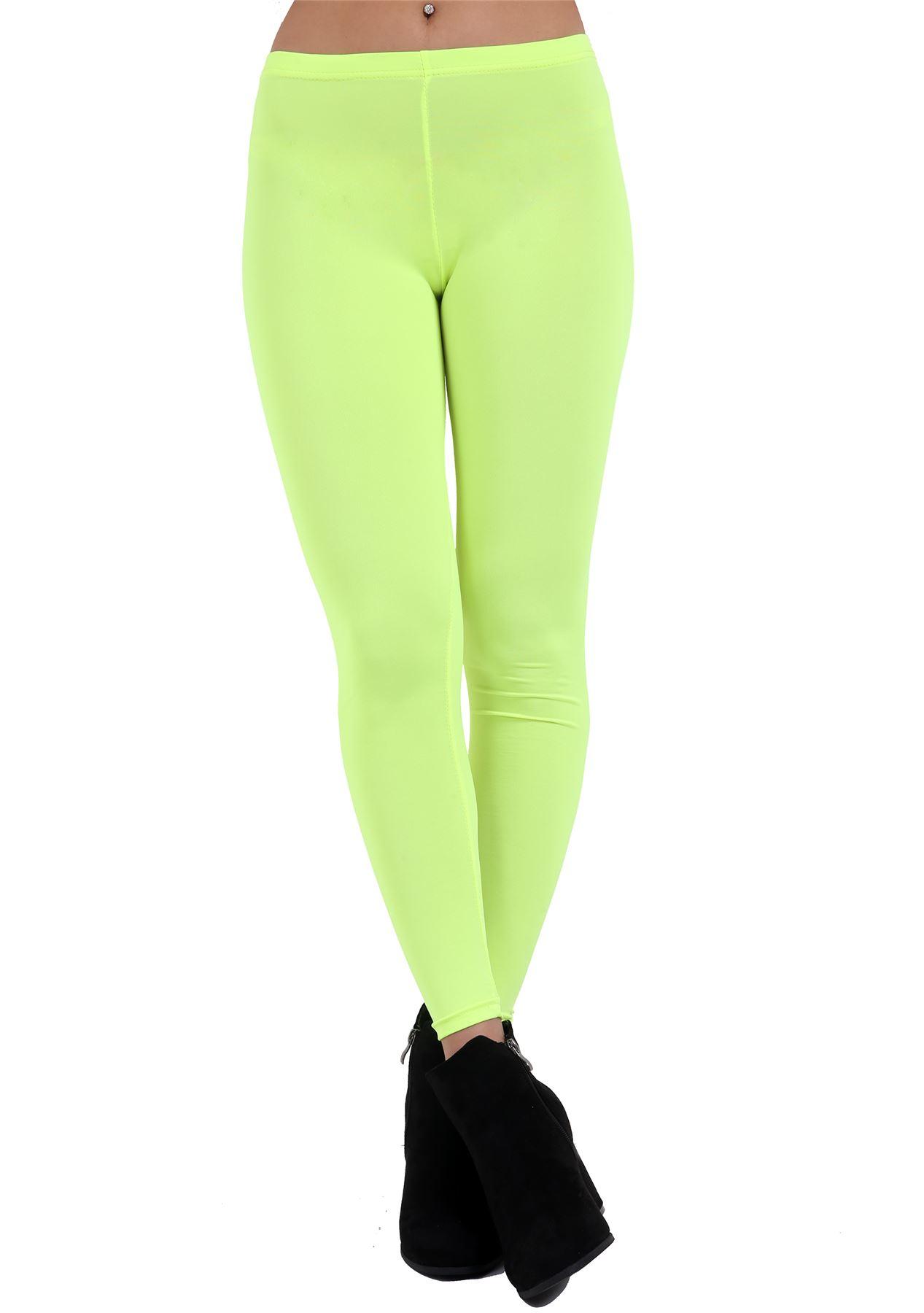 Childrens Fancy Full Length Plain Cotton Legging Girls Sports Party Wear Trouser