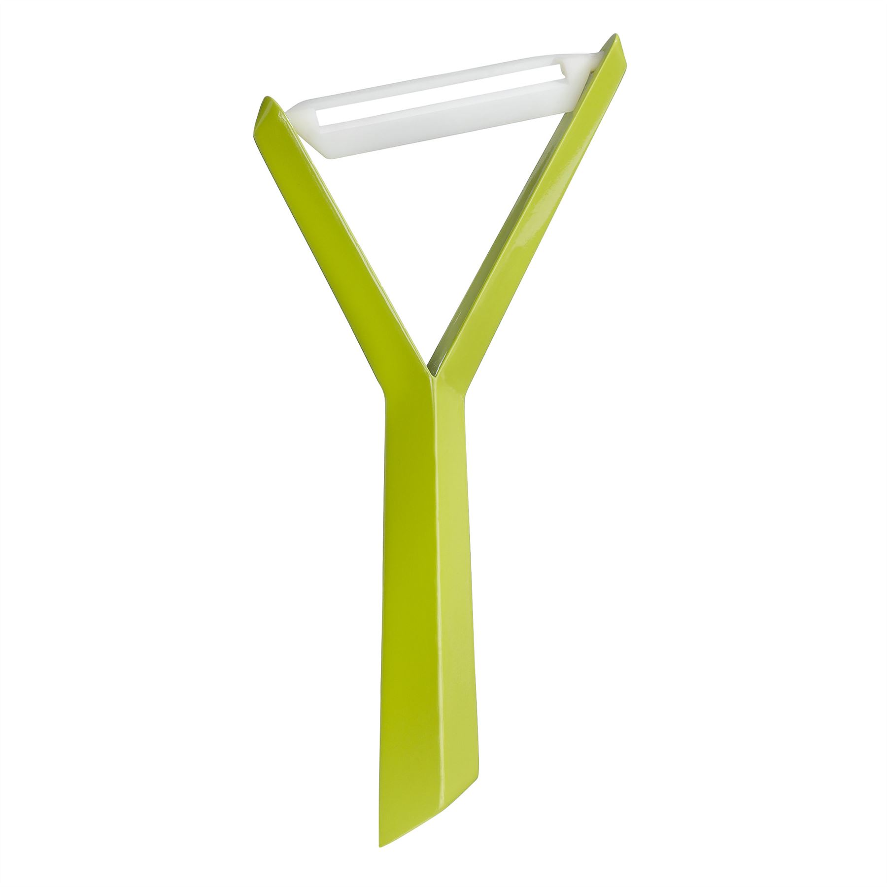 Y shaped vegetable peeler - Koziol Kant Y Shaped Vegetable Peeler Mustard Green