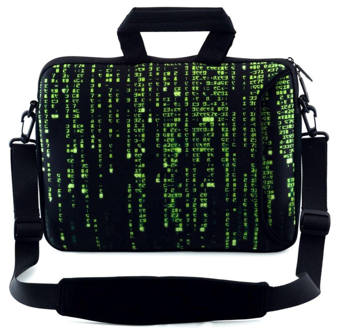 10 17 6 pouces sac bandouli re sacoche housse pour for Housse ordinateur 17 pouces
