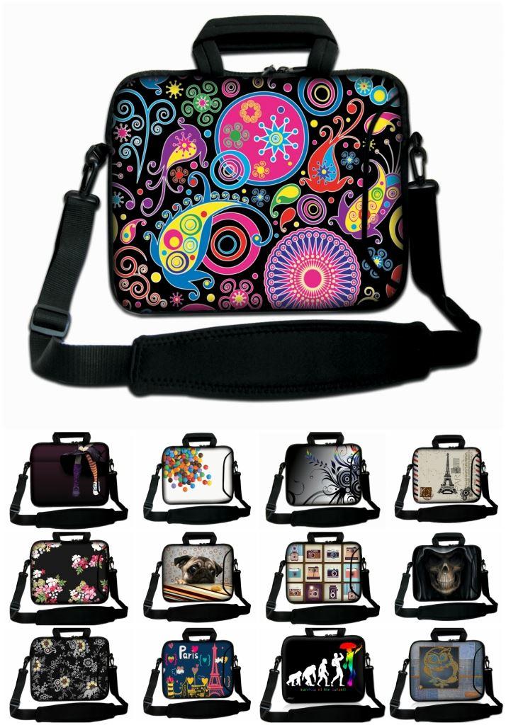 pouces 10 sac épaule 3 avec Néoprène Carnet Porter 17 LUXBURG® Tw4qvw7