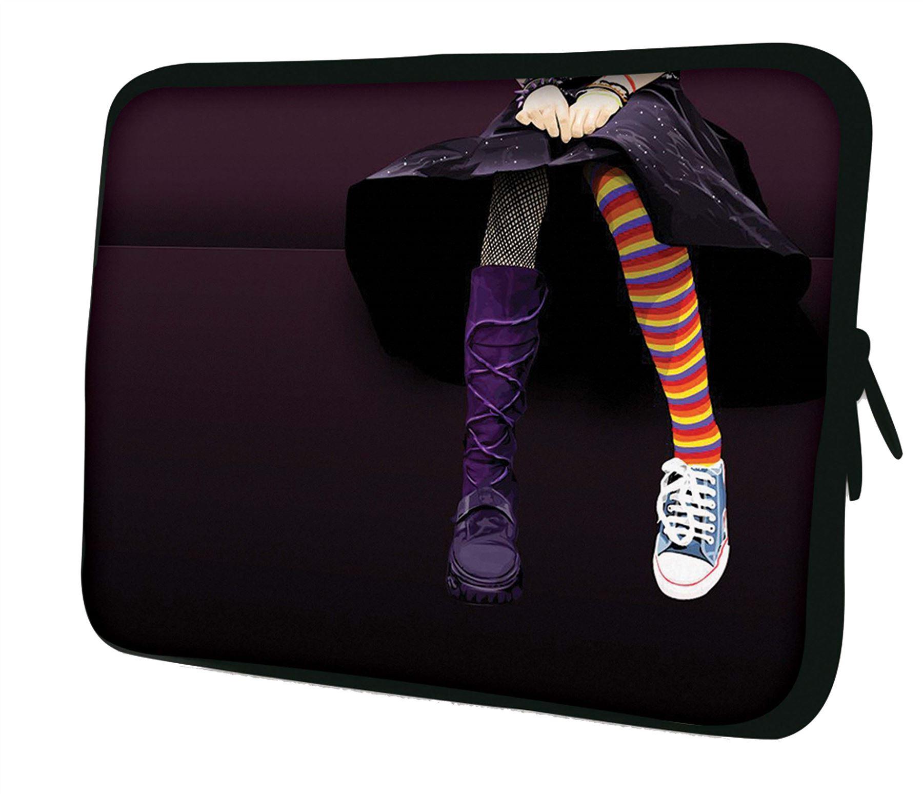 housse de protection en n opr ne pour ordinateur portable de luxburg 10 17 3 ebay. Black Bedroom Furniture Sets. Home Design Ideas