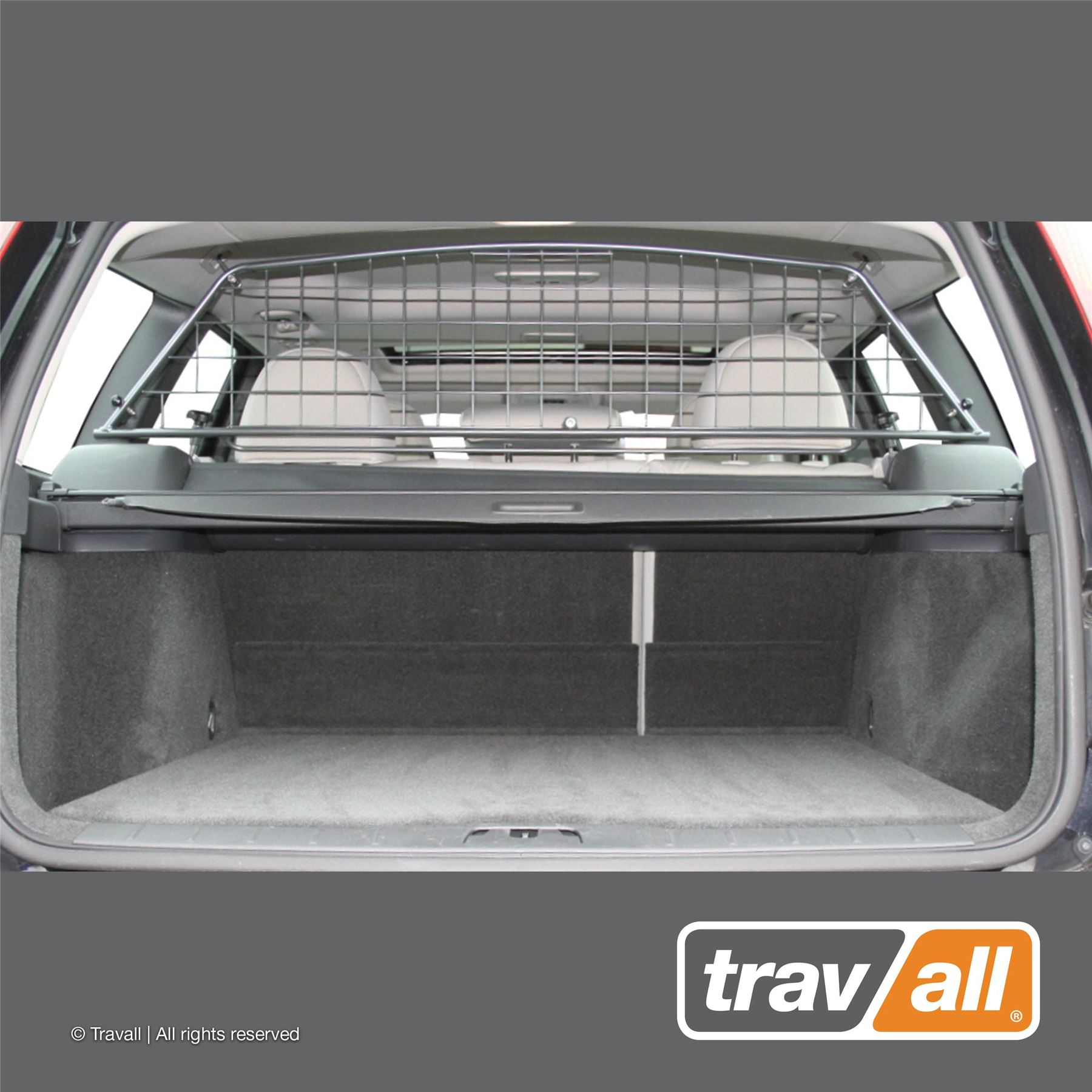 Heavy Duty Rubber Car Boot Mat Liner Pet Protector For Volvo V50 2004-2012