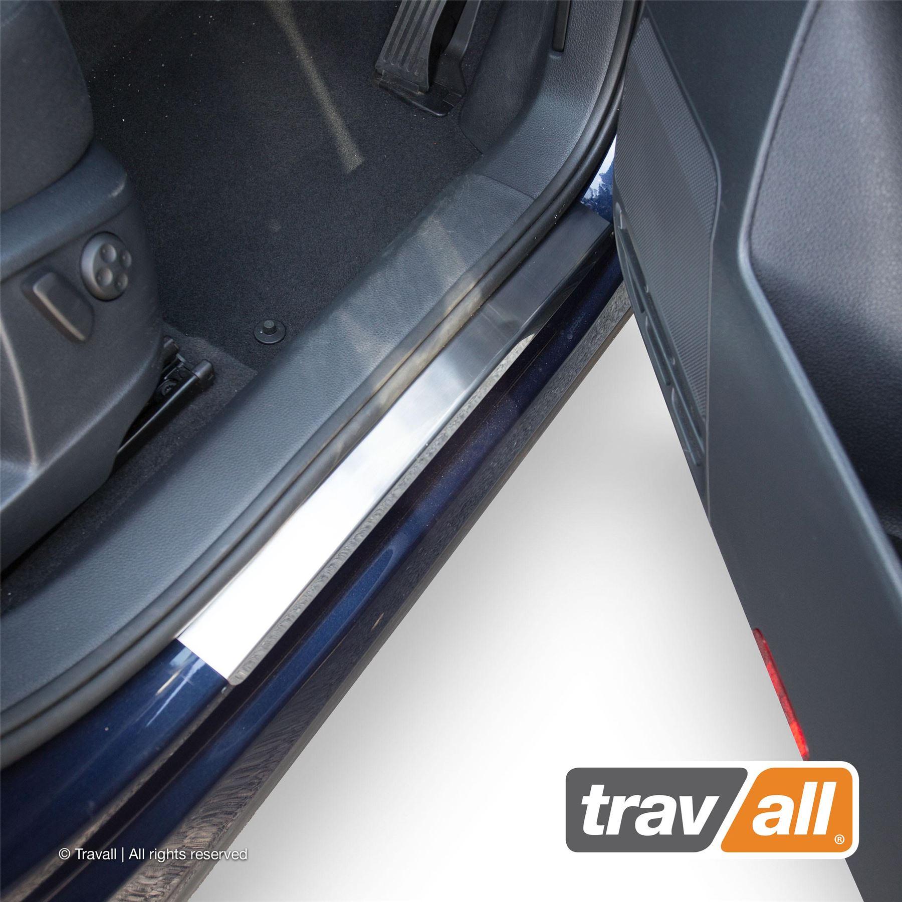 SEAT ALHAMBRA  since 2010 Rear Bumper Protector Profiled Sill Guard Steel