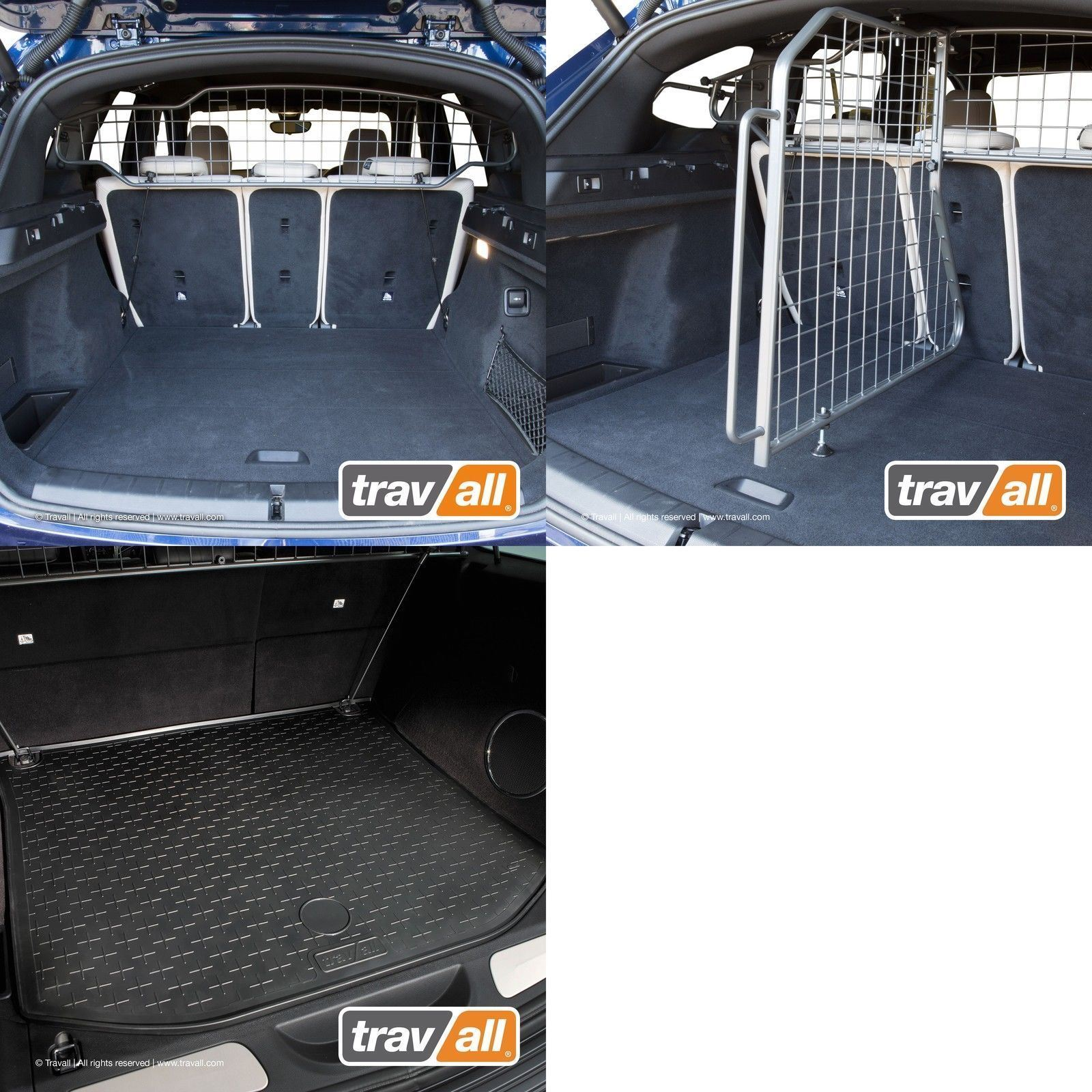 10 + DELUXE HEAVY DUTY HEADREST MESH DOG GUARD for BMW X1