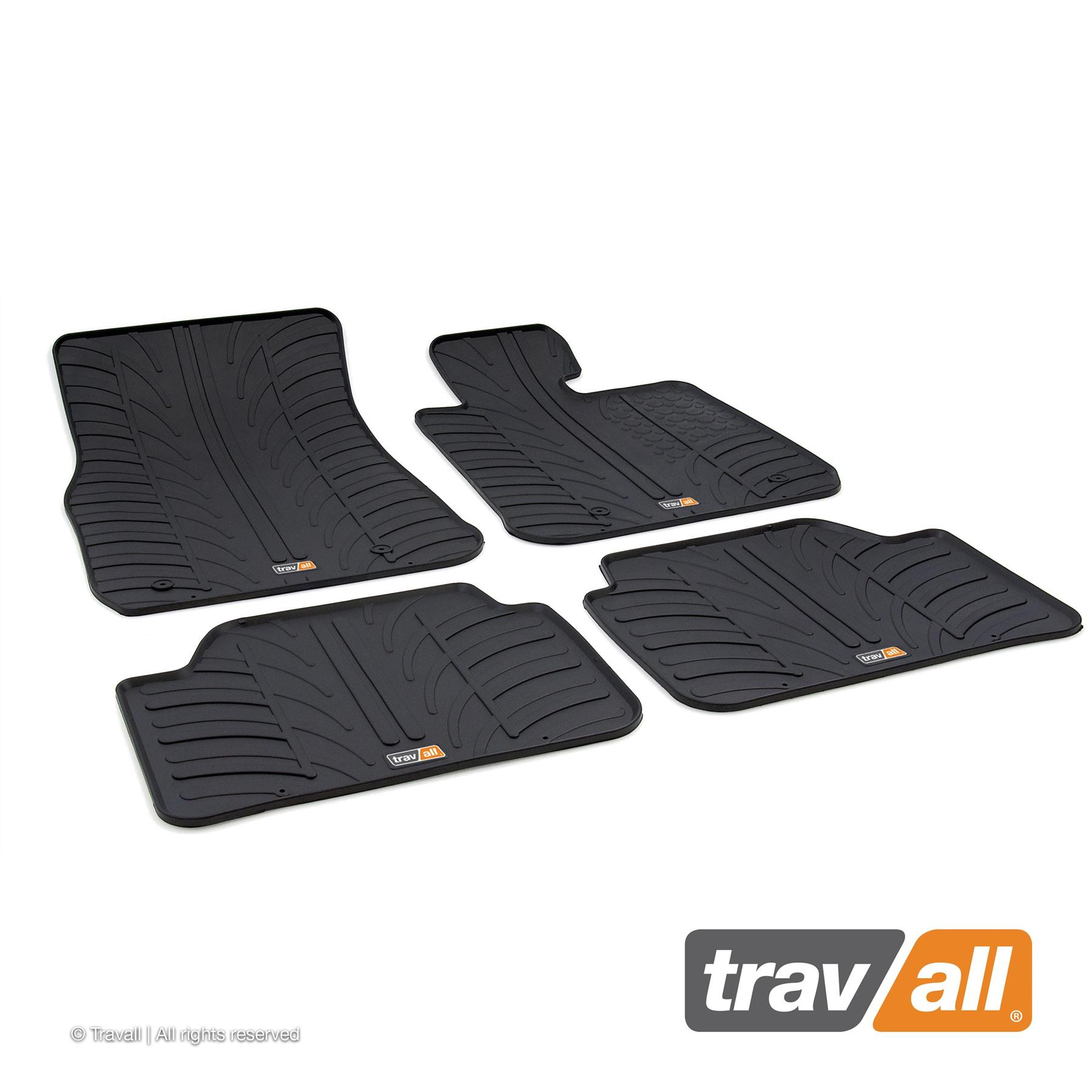Travall Liner TBM1095 Vehicle-Specific Black Rubber Boot Mat Liner