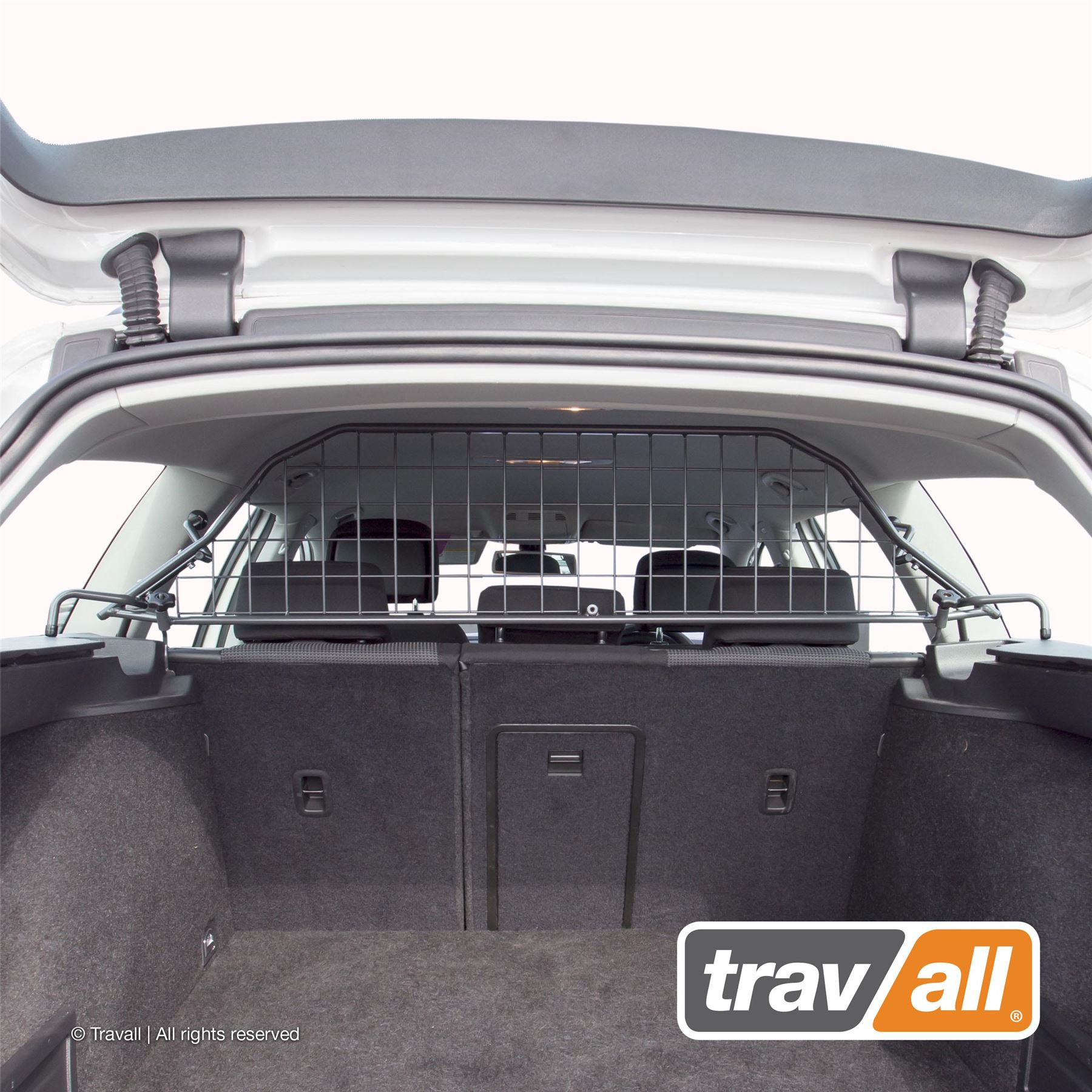 VW Passat 2005-2011 Estate Heavy Duty Mesh Head Rest Car Dog Guard Barrier