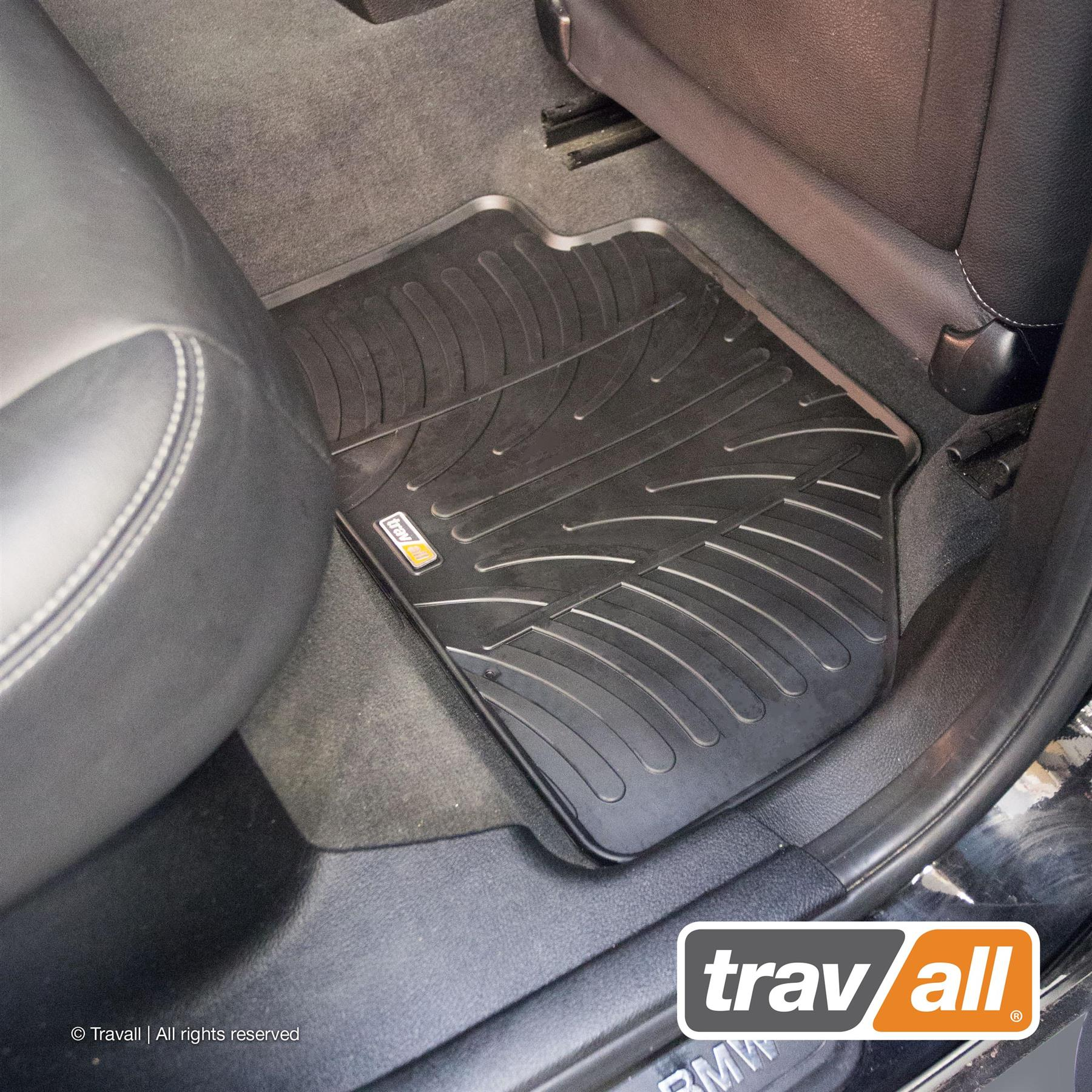 Details about Travall® Rubber Car Mats for BMW X1 2015 > TRM1179R
