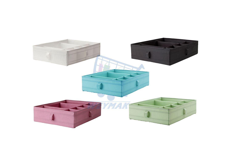 ikea skubb box with compartments wardrobe organiser. Black Bedroom Furniture Sets. Home Design Ideas