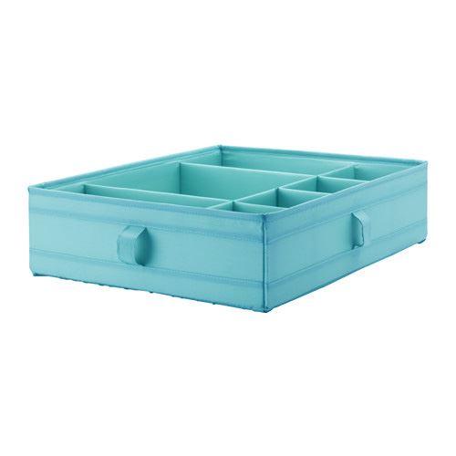 ikea skubb box with compartments wardrobe organiser ebay. Black Bedroom Furniture Sets. Home Design Ideas