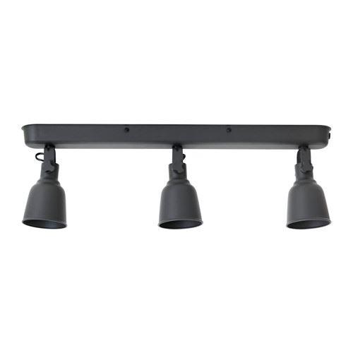 black track lighting. IKEA-HEKTAR-spotlight-Ceiling-track-lighting-3-spots- Black Track Lighting .