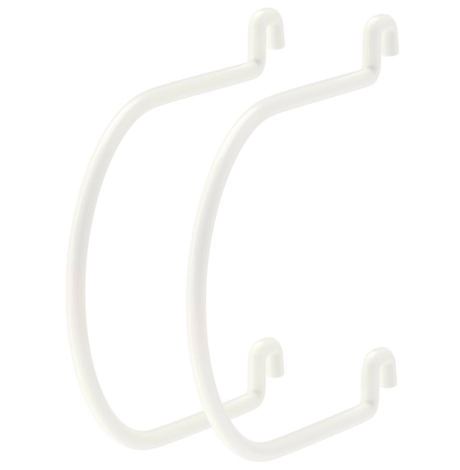 Ikea Skadis Pegboard Wall Organiser Storage Clips Hooks  # Support Mural Tv Ikea